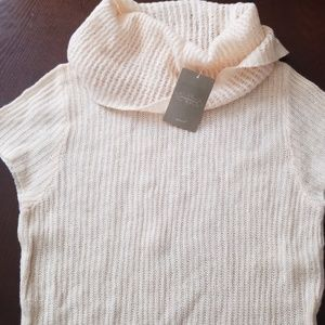 Anthropologie Moth Turtleneck Tunic Sweater NWT L